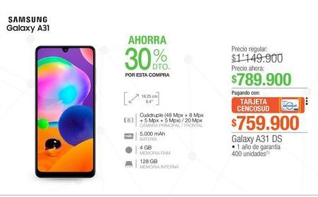 Oferta de Celulares Samsung por $789900