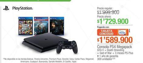 Oferta de PlayStation 4 PlayStation por $1729900