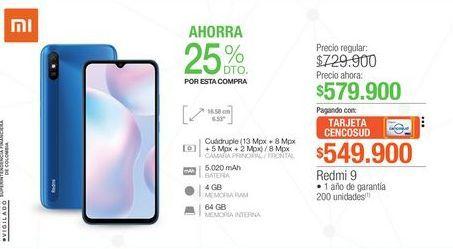 Oferta de Celulares Xiaomi por $579900