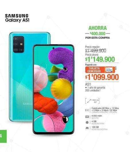 Oferta de Celulares Samsung por $1149900