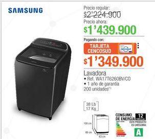 Oferta de Lavadora carga superior Samsung por $1439900