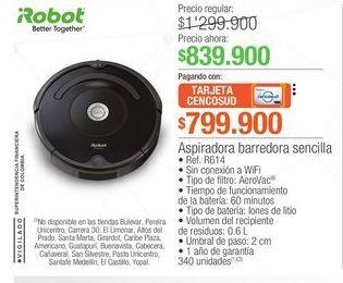 Oferta de Robot aspirador Robot por $839900