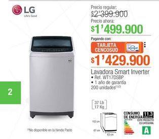 Oferta de Lavadora carga superior LG por $1499900