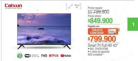 Oferta de Smart tv led por $849900