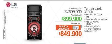 Oferta de Equipo de sonido LG por $899900