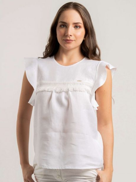 Oferta de Blusa lino sc tipo lino por $79800