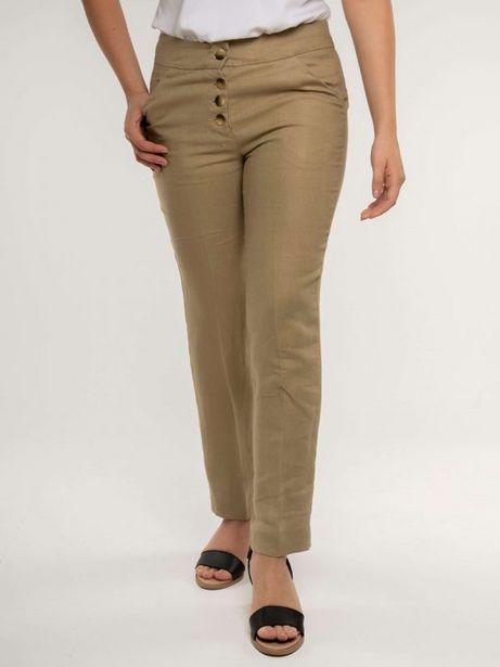 Oferta de Pantalon lino dama sc tipo lino por $128800