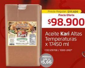 Oferta de Aceite kari por $98900