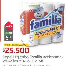 Oferta de Papel higiénico Familia por $25500