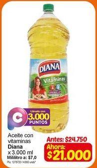 Oferta de Aceite vegetal Diana por $21000
