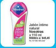 Oferta de Higiene íntima Nosotras por $5000