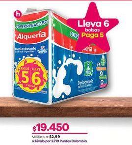 Oferta de Leche deslactosada Alquería por $19450