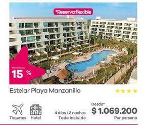 Oferta de Hoteles por $1069200