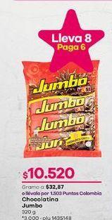 Oferta de Chocolatinas Jumbo por $10520