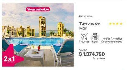 Oferta de Hoteles por $1374750
