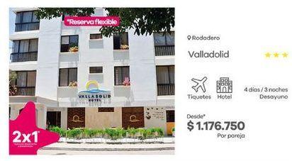 Oferta de Hoteles por $1176750