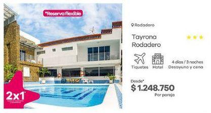 Oferta de Hoteles por $1248750