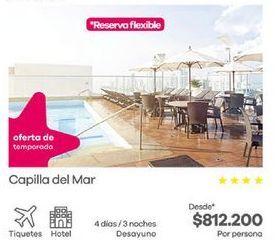 Oferta de Hoteles por $812200