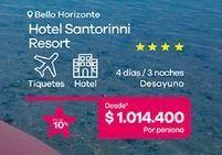 Oferta de Hoteles por $1014400
