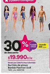 Oferta de Muñecas Barbie Barbie por $19990