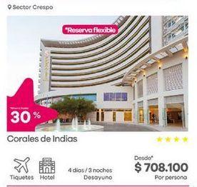 Oferta de Hoteles por $708100