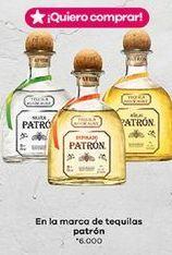 Oferta de Tequila Patron por