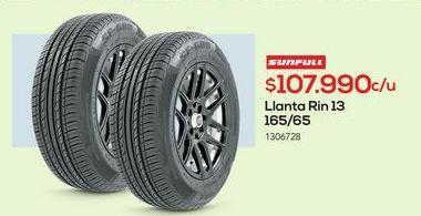 Oferta de Llantas Sunfull por $107990