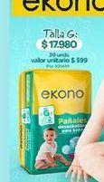 Oferta de Pañales ekono por $17980