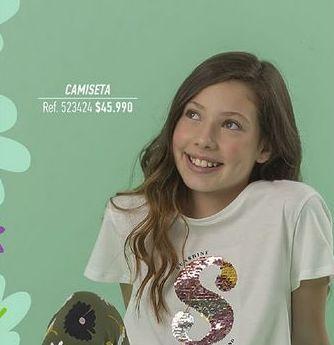 Oferta de Camiseta niña por $45990