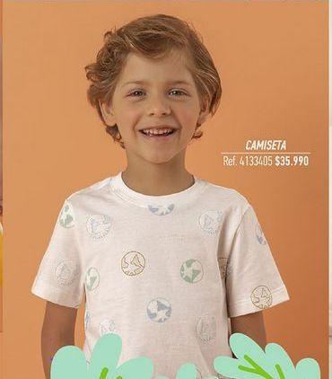 Oferta de Camiseta niño por $35990