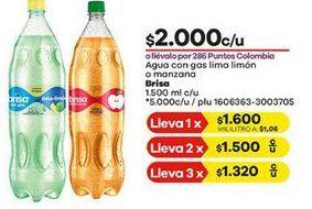 Oferta de Agua con sabor brisa por $2000