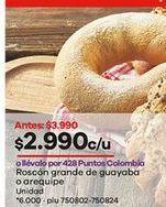 Oferta de Roscón por $2990