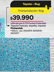 Oferta de Tapete Finlandek por $39990