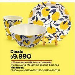 Oferta de Vajilla Finlandek por $9990