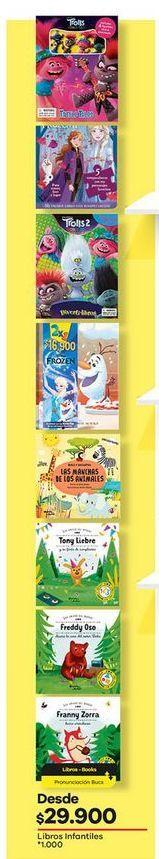 Oferta de Libros infantiles por $29900