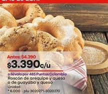 Oferta de Roscón por $3390
