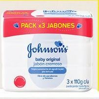 Oferta de Jabón de tocador Johnson's por $6570