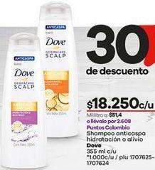 Oferta de Shampoo anticaspa Dove por $18250