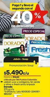 Oferta de Jabón de tocador Dorado por $5490