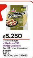 Oferta de Tortilla Bimbo por $5250