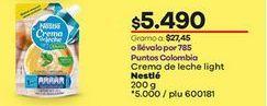 Oferta de Crema de leche Nestlé por $5490