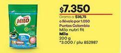 Oferta de Bebida achocolatada Milo por $7350