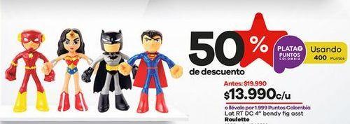 Oferta de Figuras de acción por $13990