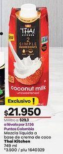 Oferta de Leche de coco por $21950