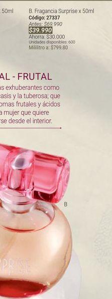 Oferta de Perfume mujer por $39990