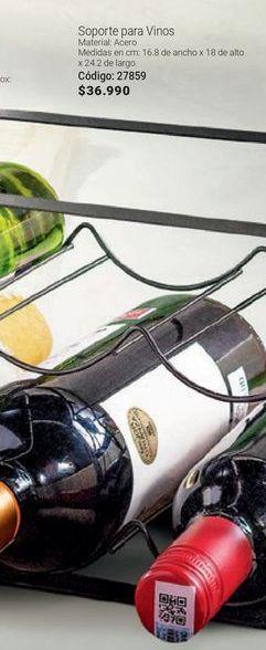 Oferta de Soporte para vinos por $36990