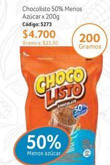 Oferta de Bebida achocolatada Chocolisto por $4700