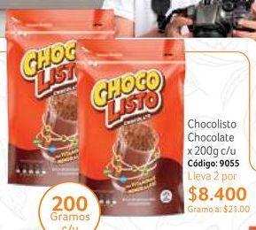 Oferta de Bebida achocolatada Chocolisto por $8400