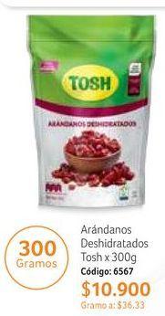 Oferta de Arándanos Tosh por $10900