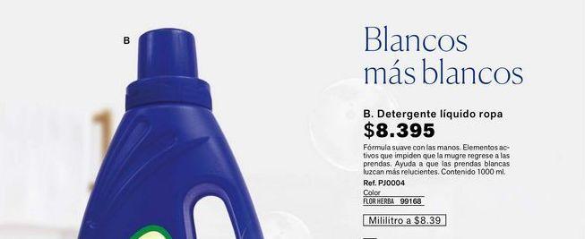 Oferta de Detergente líquido ropa  por $8395